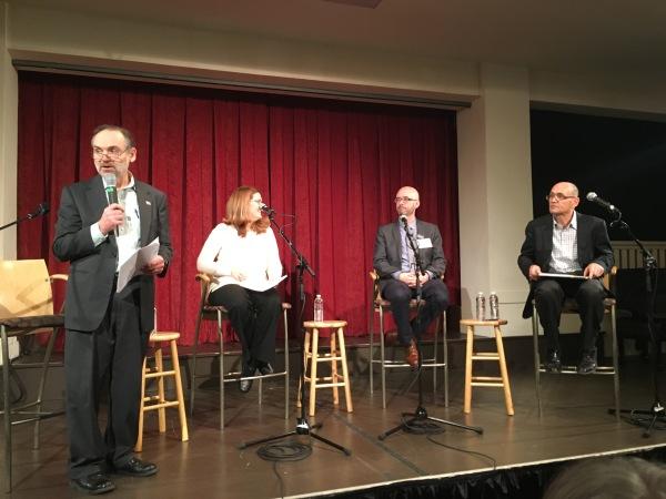 Dave Ross, Barb Poppe, Mark Putnam, and George Scarola